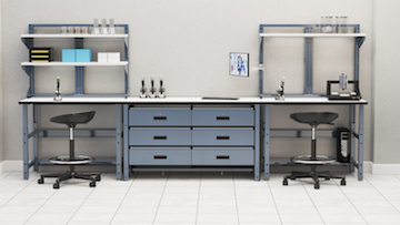 Mayline Techworks Medical Workstations