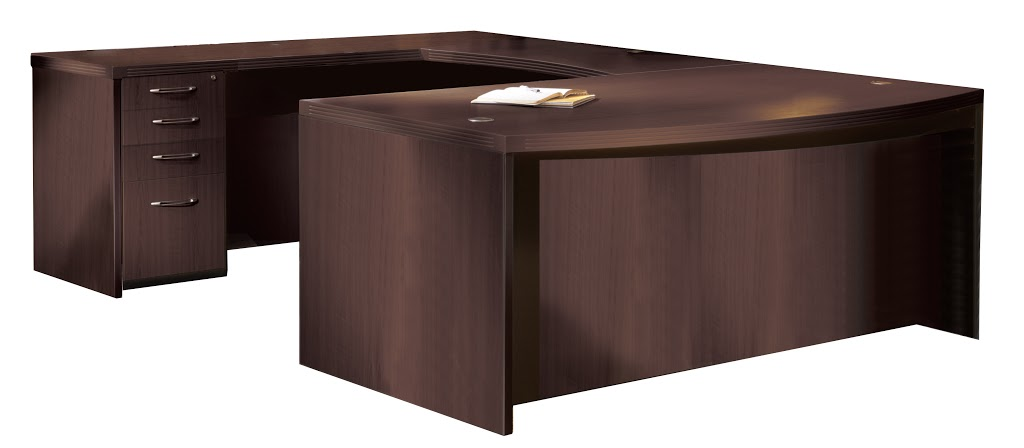 Save Up To 70 Mayline Aberdeen Executive Desk At3