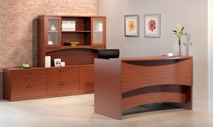 Mayline Brighton Reception Desk