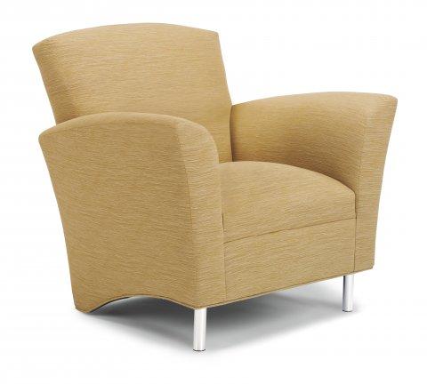 Flexsteel Monza Versatile Club Chair Contemporary Design