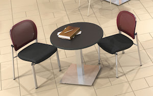Lunchroom Cafe Tables Chairs Stools