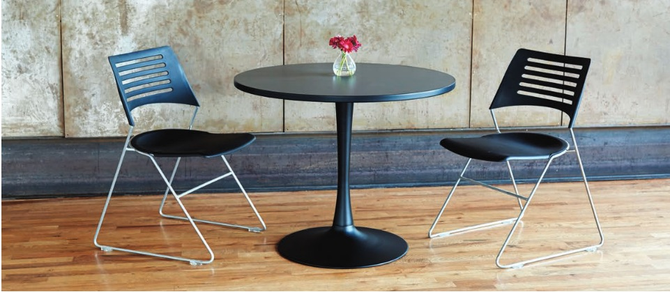 Safco Cha-Cha Tulip Base Table