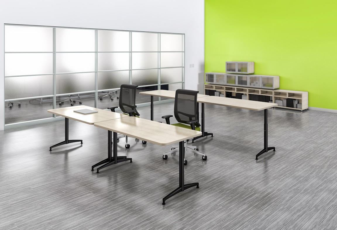 Mayline Cohere Training and Classroom Tables