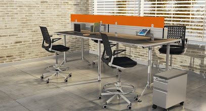 Safco EVEn Standing Height Workstations