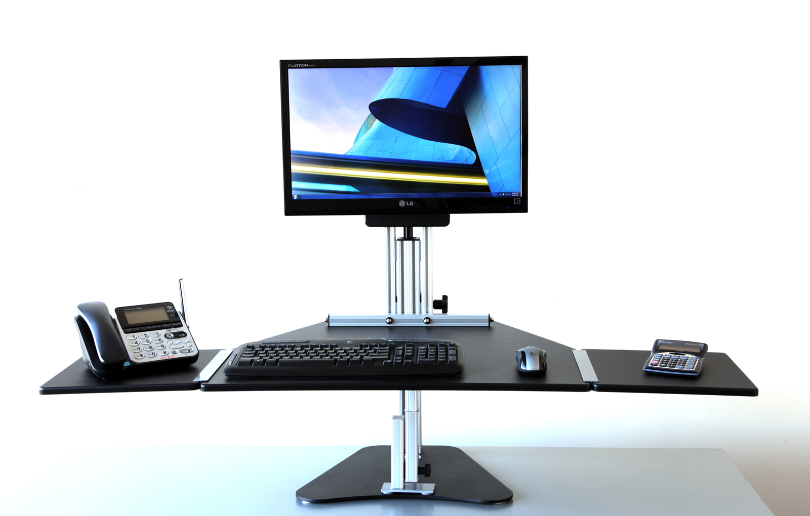 Ergo Desktop Height Adjustable Desk Kangaroo Pro