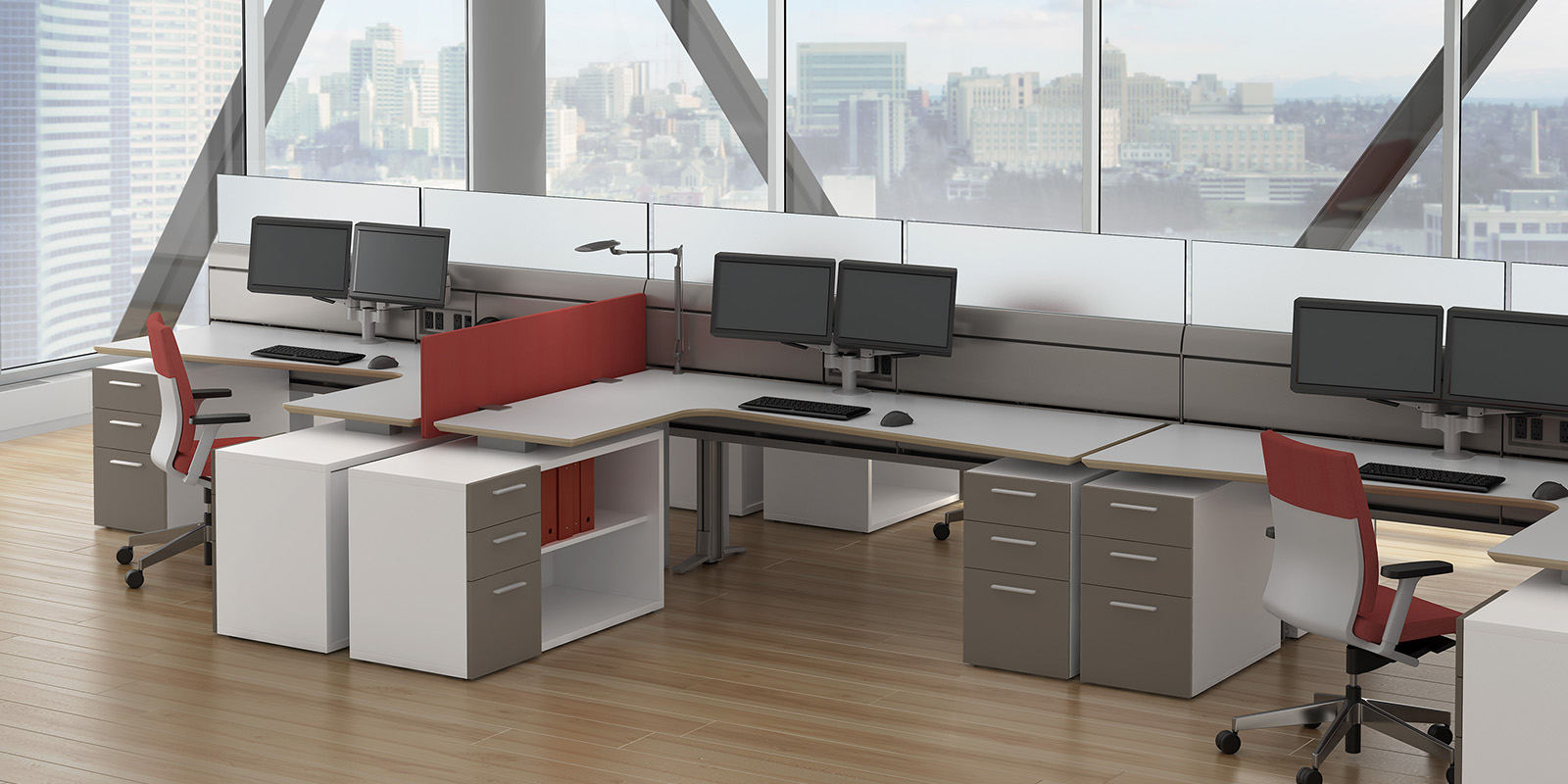 Watson M2 Open Office Design