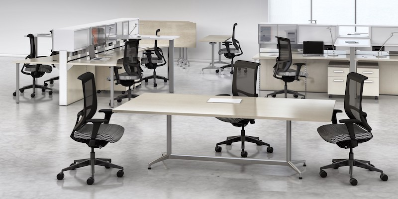 Mayline Cohere Rectangle Conference Table