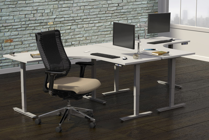 Mayline Height Adjustable Workstations