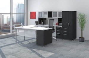 Mayline e5 Modular Desk Furniture
