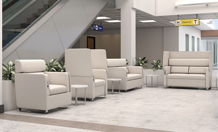 OFM Morph Privacy Lounge Seating Solutions