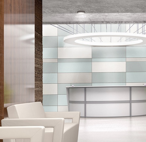 OFM Marque Reception Desk with Distinct Seating