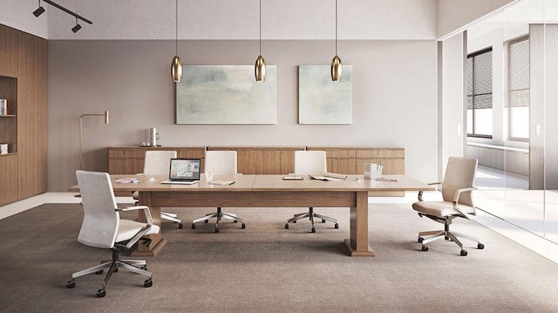 OFS Meeting Room Tables and Cabinets