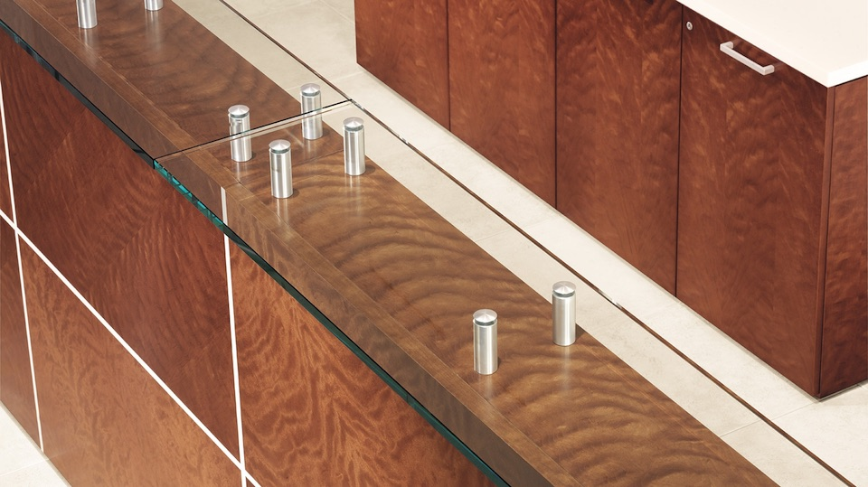 OFS Element Glass Counter Top Detail