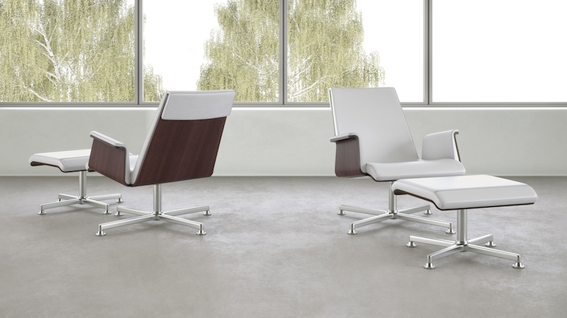 OFS Madrid Lounge Chairs with Ottomans