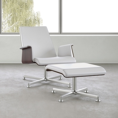 OFS Madrid Lounge Chair with Ottoman