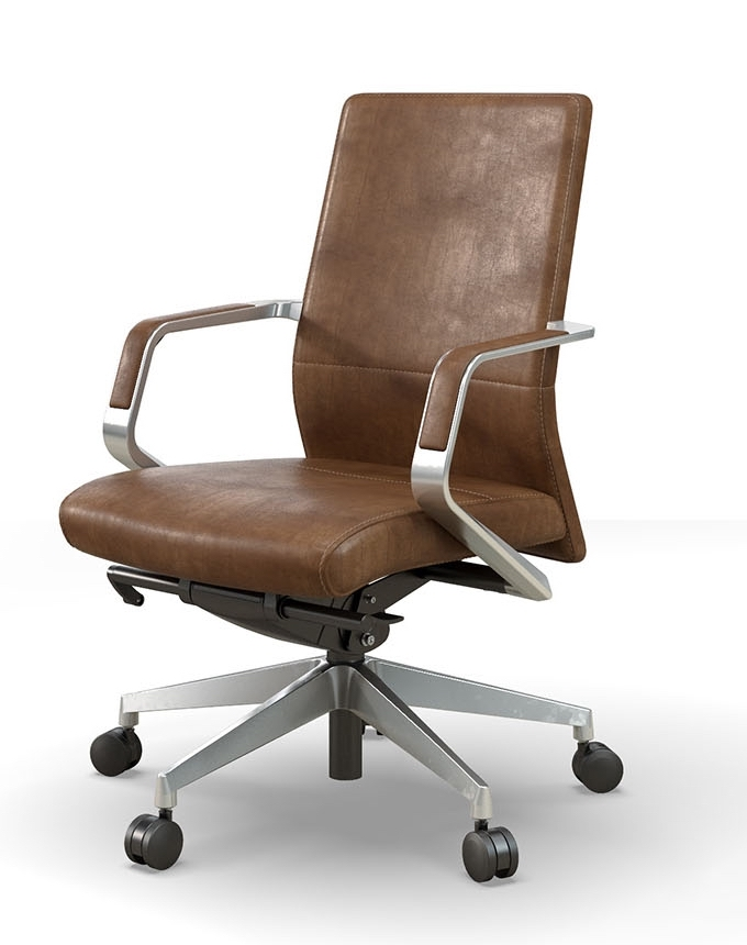 OFS Pur Mid-Back Executive Office Chair