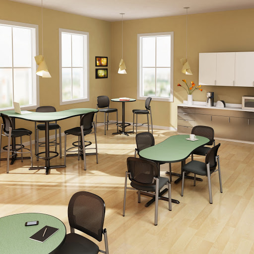 Mayline Bistro Tables and Chairs