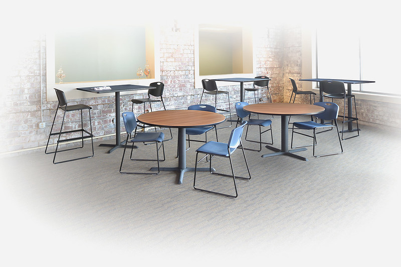 Regency Cain Breakroom and Cafe Tables