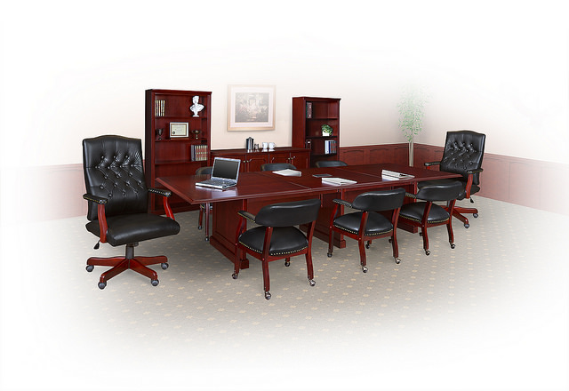 Regency Prestige Traditional Conference Table - Regency conference table