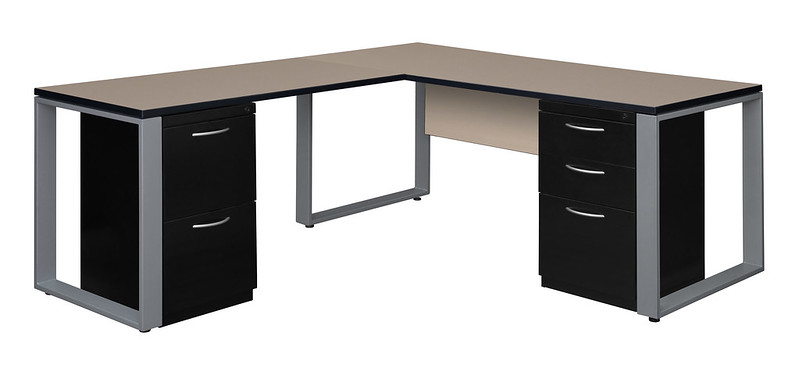 Structure Desk with Fusion Cabinets
