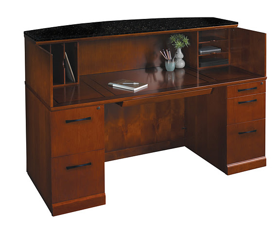 Mayline Reception Sorrento Desk