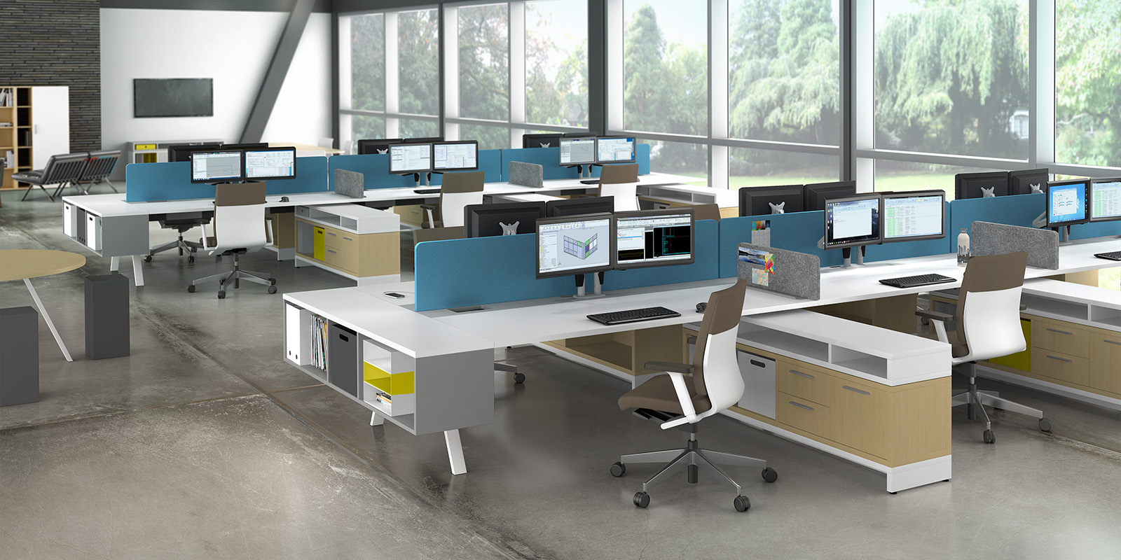 Watson Tonic Flexible Office Benching