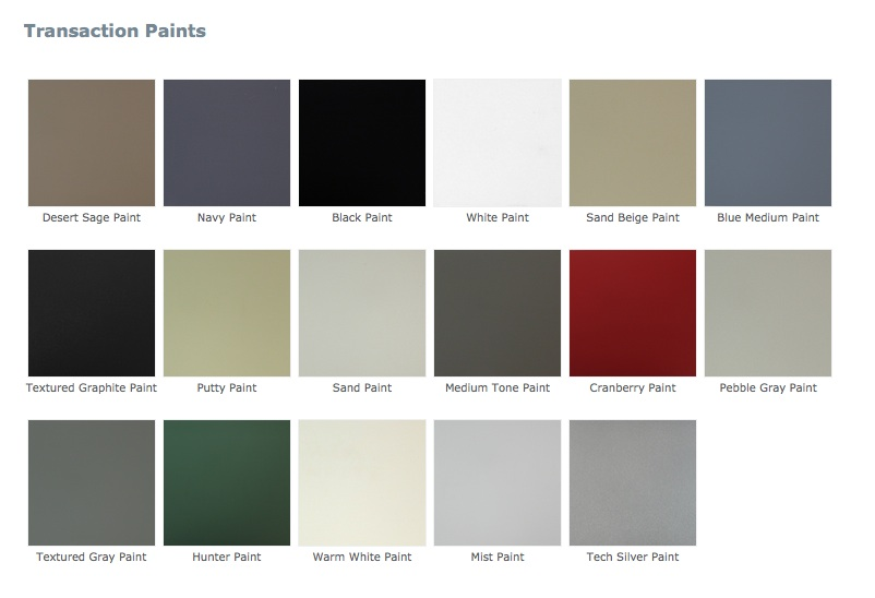 Mayline Paint Colors