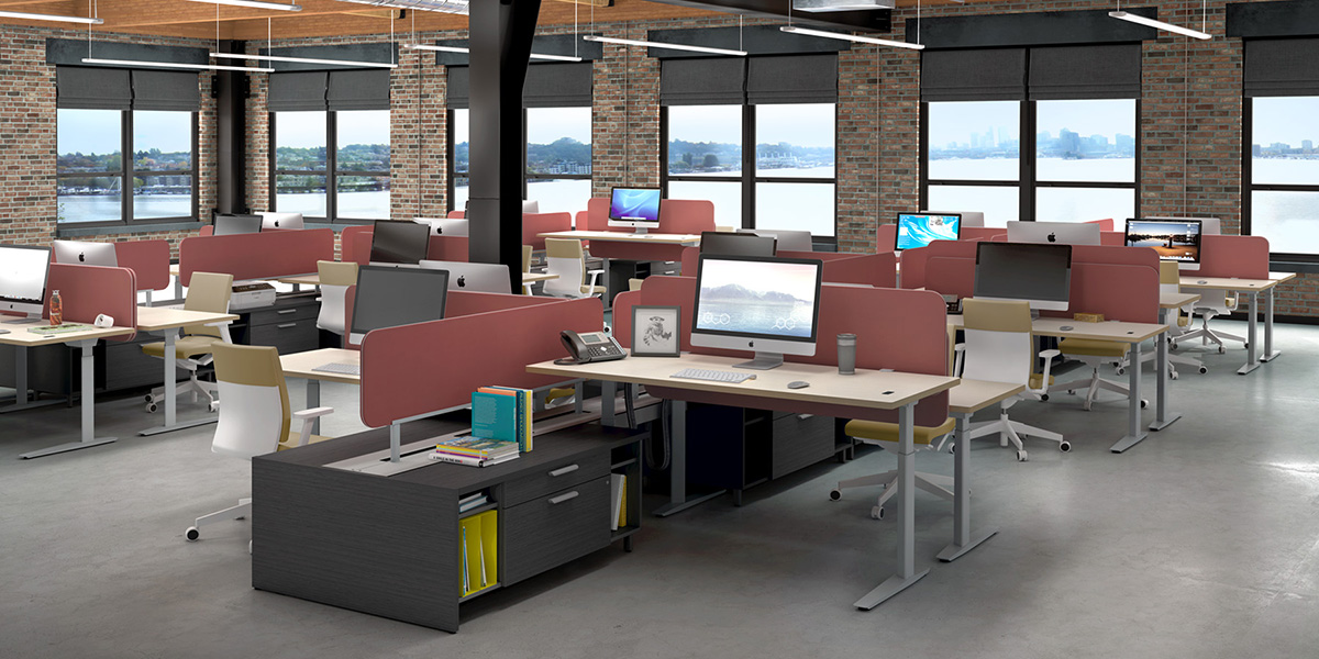 25 original open office furniture for Office design northern ireland