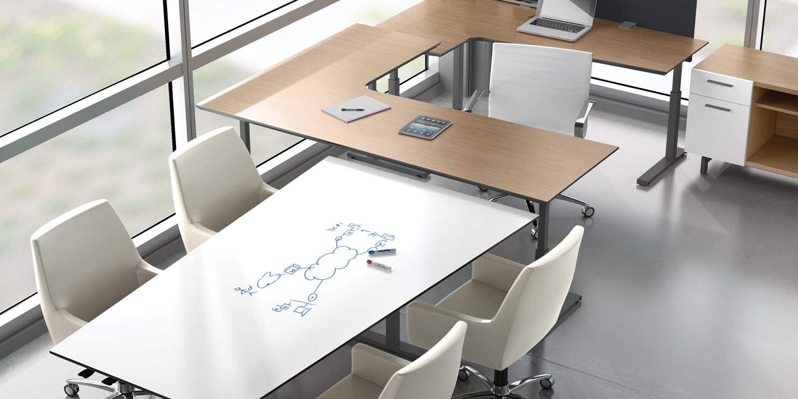 Seven Modular Office By Watson Furniture