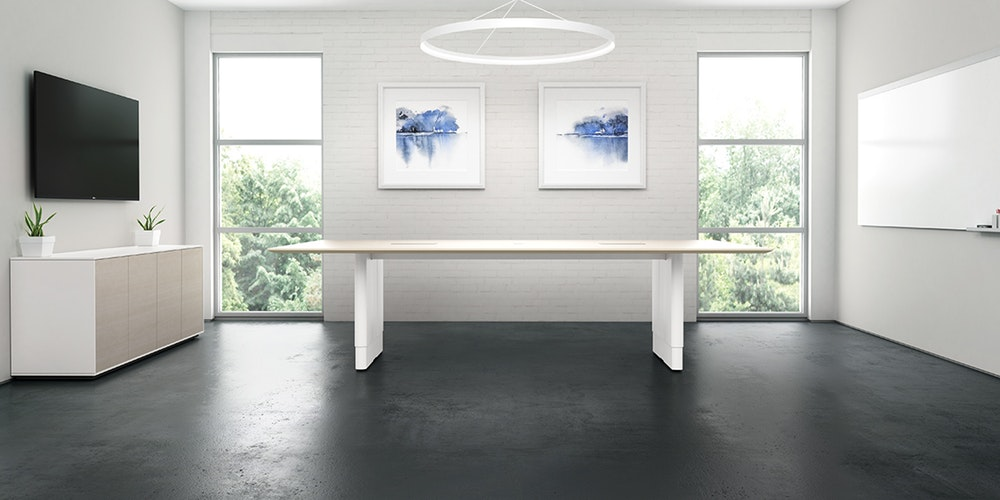 Watson Tia Height-Adjustable Meeting Table