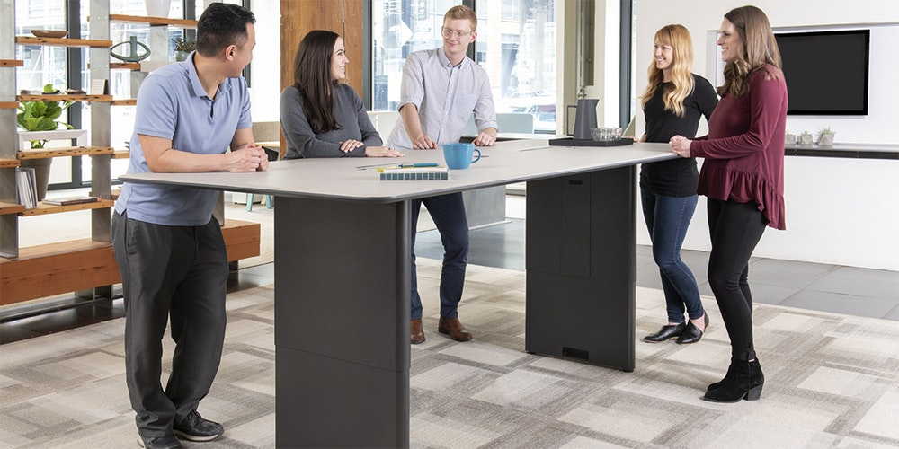 Watson Tia Adjustable Team Tables