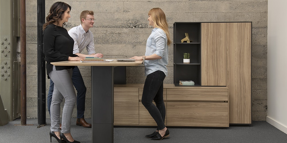 Watson Tia Desks for Collaborative Meetings