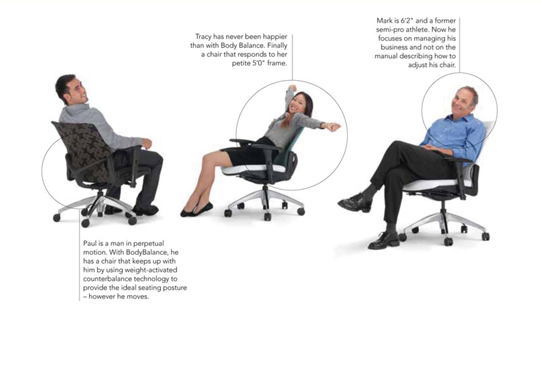 Highmark - Body Balance Chairs