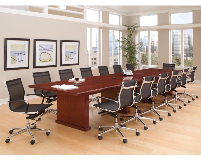 Conference Tables Make A Positive Statement With