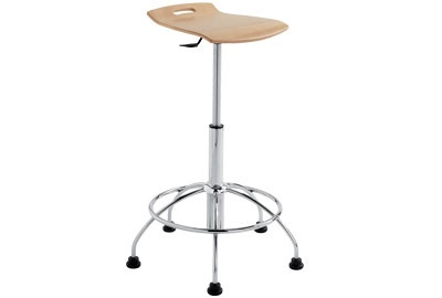 ERG Ares Adjustable Height Stool
