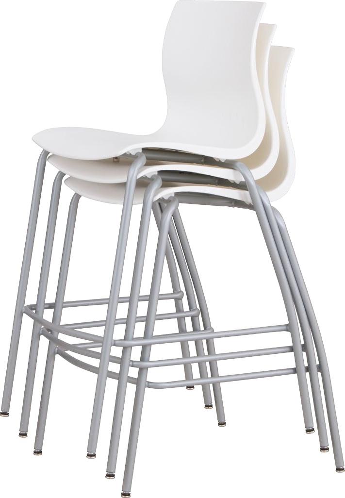 Erg Webby Stacking Chair With Angle Arms Make Yourself