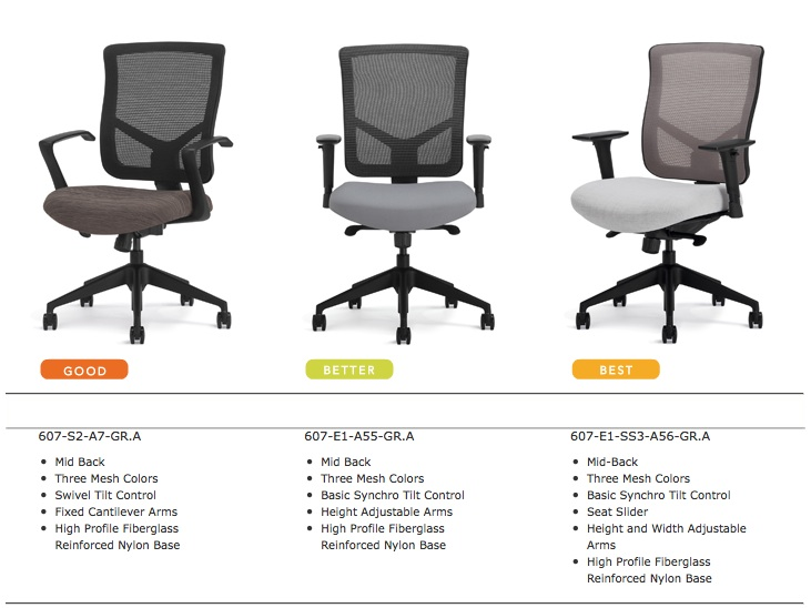 Highmark Bolero Office Chairs