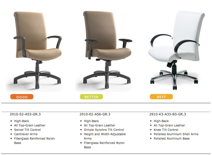 Highmark Camber Office Chairs