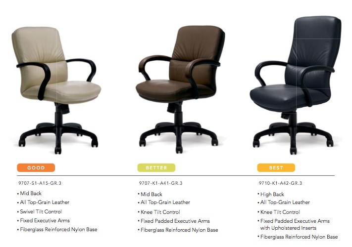 Highmark Modus Chairs