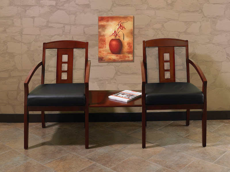Wood Guest Chairs