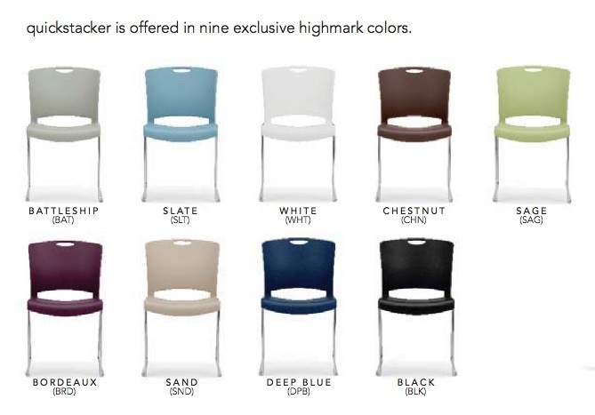 Highmark Quickstacker Colors