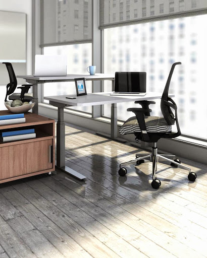 Mayline Height-Adjustable Table