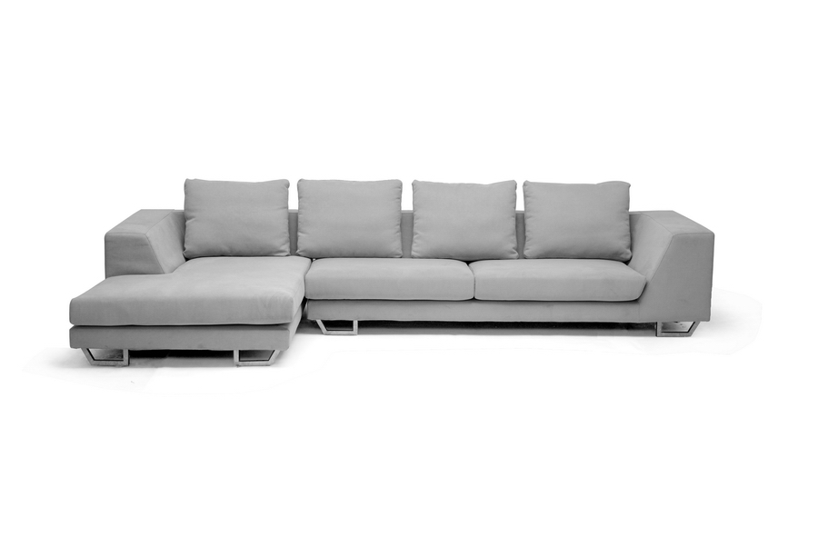 Fabric Sofa Chaise Sectional