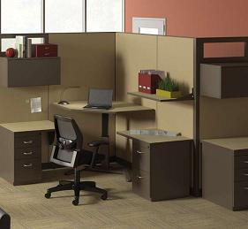 Mayline VariTask Workstation - Model 655LT