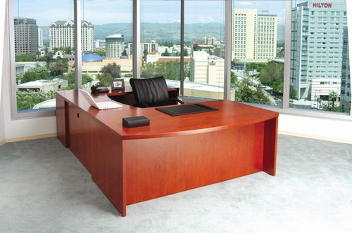 Executive Desks and Storage Cabinets