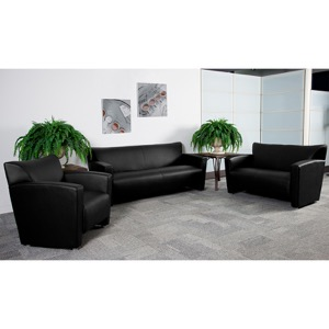 Reception Area Leather Seating