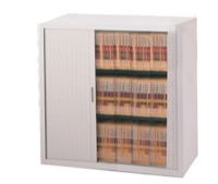 Mayline File Harbor Cabinets - 3-Shelf - Four Dividers / Shelf