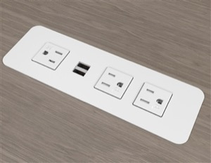 Surface Mount Power Outlets With Usb Charging Ports