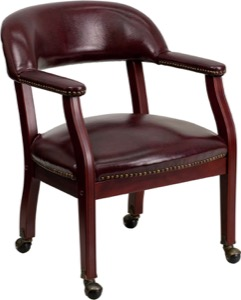 Side Chairs with Nail Trim