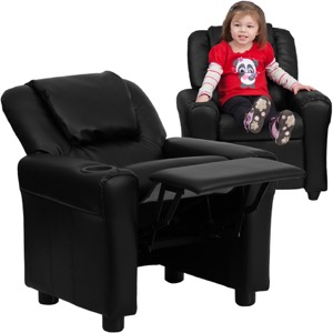 Black kids recliner